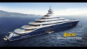 200 Meter Superyacht Double Century Launched
