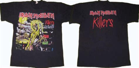 vintage iron maiden killers  shirt