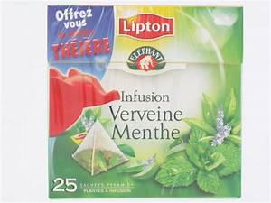 Verveine Plante Tisane : infusion verveine menthe lipton 25 sachets th s infusions tisanes proxilivre ~ Mglfilm.com Idées de Décoration
