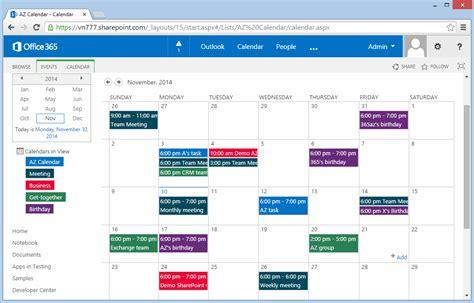 tasc colors az color code sharepoint calendar sharepoint 365