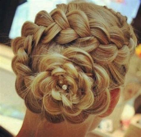 rose braid hair styles pinterest rose braid hair