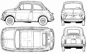 Car Fiat 500l  Photo Sketch Drawing