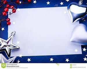Art Christmas Greeting On Blue Background Stock Image ...