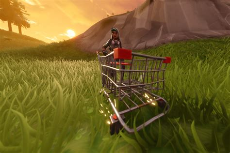 hands   fortnites shopping cart polygon