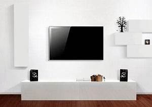 Tv Wand Deko : tv wand 15 mal anders living at home ~ Sanjose-hotels-ca.com Haus und Dekorationen