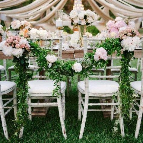 deco chaise mariage 20 idées déco pour un mariage chêtre romantique