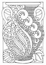 Coloring Deco Adult Adults Printable Vase Patterns Flower Colouring Simple Pattern Flowers Justcolor Grown Ups Geometric Pdf Sheets Everfreecoloring Prints sketch template