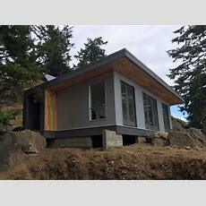 The Desolation Sound Cabin A Modern Offgrid And Modular