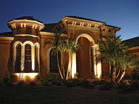 landscape lighting showcasing your garden at outdoor lighting perspectives