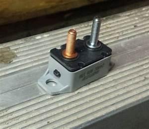 Buy 15amp R08 24vdc Shortstop Circuit Breaker Manual Reset