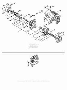 Shindaiwa Le261 Parts Diagram For Crankcase  Cylinder Cover