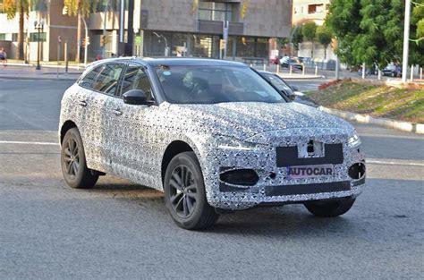 jaguar  pace facelift  testing