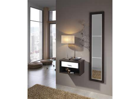acheter votre petit meuble d 39 entrée mural avec miroir chez
