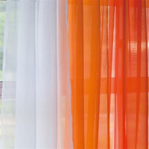 jcpenney orange sheer curtains orange gradient panel set ombre gray and sheer curtains