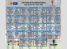 Calendario de Eliminatorias Sudamericanas del Mundial de