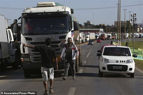 Brazilian Truckers Strike Enters Its 7th Day  Daily Mail