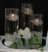 Wedding Flower Wedding Candles Wedding Decorating Wedding Centerpieces Candles Wedding Reception Flowers Wedding Flowers 2013 Vase With Floral Surround Candle Standing In Sand Weddings 37 Floating Flowers And Candles Centerpieces Shelterness