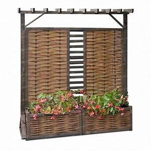 Jardiniere Chez Jardiland : bac avec treillis pas cher ~ Premium-room.com Idées de Décoration