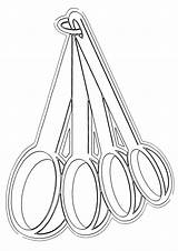 Coloring Pages Spoon Wooden Spoons Coloringway sketch template