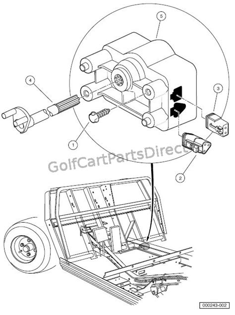 Club Car Controller Diagram by Wiring Diagram For Club Car Ds Auto Electrical Wiring