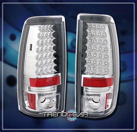 2005 silverado tail lights 2003 2006 chevy silverado gmc sierra led tail lights rear