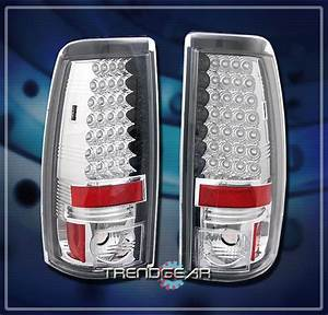 2003 Gmc Sierra Led Tail Lights Rear
