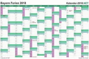 Kalender 18 19 : ferien bayern 2018 ferienkalender bersicht ~ Jslefanu.com Haus und Dekorationen