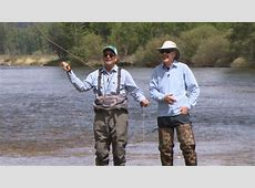 10 Celebrities Who Really Get Fly Fishing No See Um Lodge