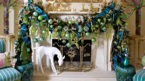 fabulous blue christmas decorating ideas youtube