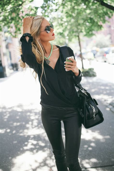 Cute Winter Outfits Street Style Ideas With Leggings - Fashion Fuz