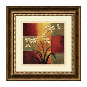 Shop, Amanti, Art, Framed, White, Orchid, Paper, Print, At, Lowes, Com