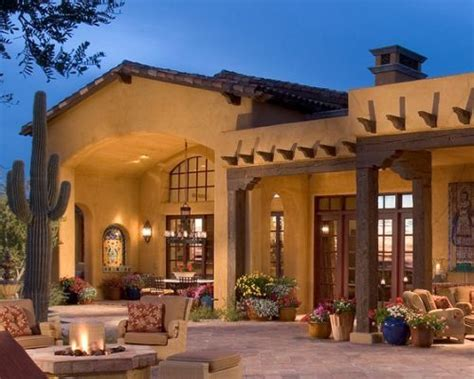 Southwestern Style Homes by Exterior Southwestern Exterior Ferhat In 2019