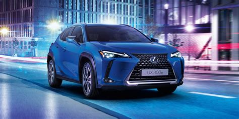 lexus launches electric suv  asia  europe showing