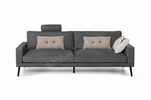 Möbel Outlet Online : skandinavische m bel davin sofa in dunkelgrau m bel letz ihr online shop ~ Indierocktalk.com Haus und Dekorationen