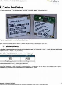 Iridium Satellite 9603n Short Burst Data Transceiver User