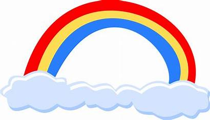 Rainbow Arco Iris Clip Simple Clipart Synonyms