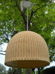 lamparas colgantes de fibras naturales lamparas