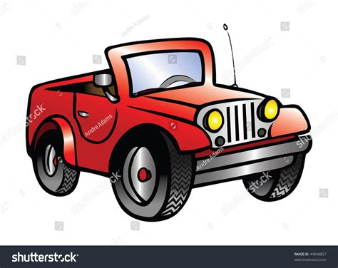 jeep illustration cartoon vector illustration jeep stock vector 44948857