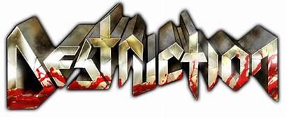 Destruction None Second Metal Rock Jour Thrash