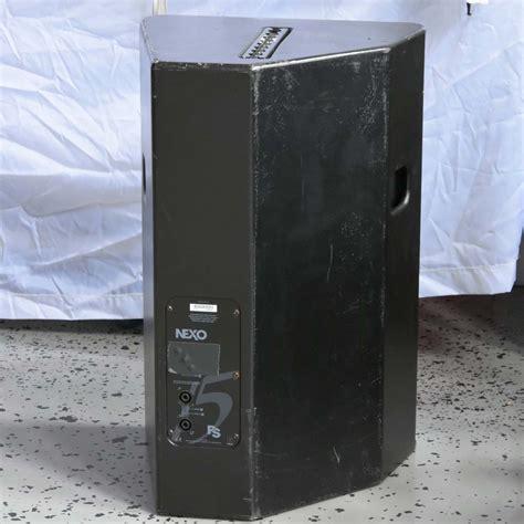 NEXO PS-15 Loudspeaker - Buy from Gearwise - Used AV ...