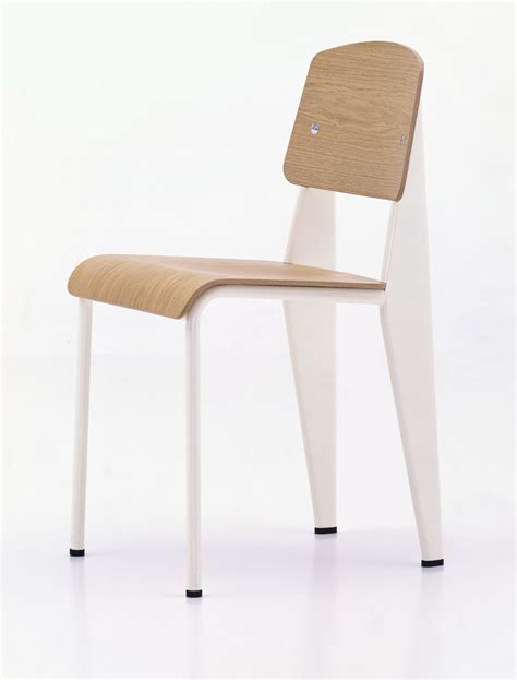Vitra Standard Chair   Cream   Jean Prouv Chairs: NOVA68.com