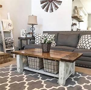 Farmhouse, Coffee, Table, Decor, Ideas, U2013, Decorathing