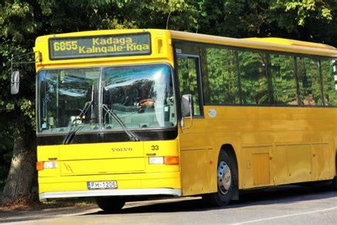 Uzmanību! Ar 1.janvāri izmaiņas autobusu kustības ...
