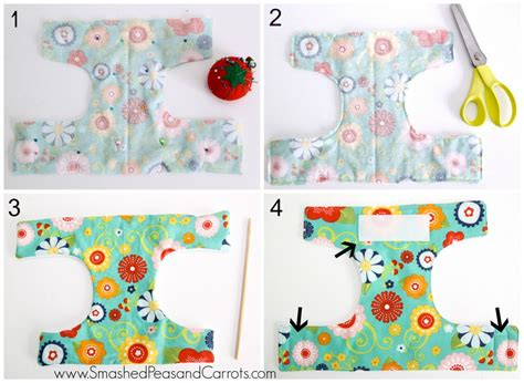 dolly diaper tutorial smashed peas carrots