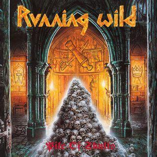 aux portes du metal chronique d album metal running pile of skulls heavy speed metal