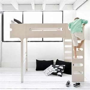 Lit Mezzanine Double : lit mezzanine double chelle funk bed beige c rus rafa ~ Premium-room.com Idées de Décoration