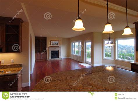 luxury american house interior royalty  stock image