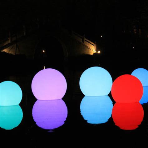 led floating swimming pool sphere light 50cm buy pool lights