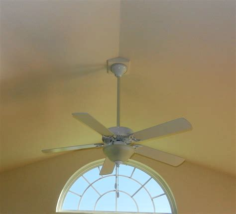 ceiling fans for vaulted ceilings cathedral ceiling fan mount placement guide lighting