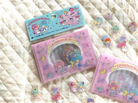 kawaii sticker flakes assort sanrio rare friends